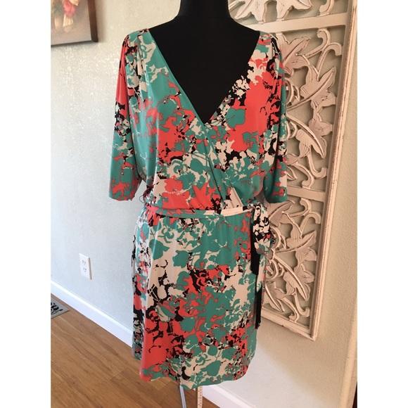 Jessica Simpson Mock Wrap Dress